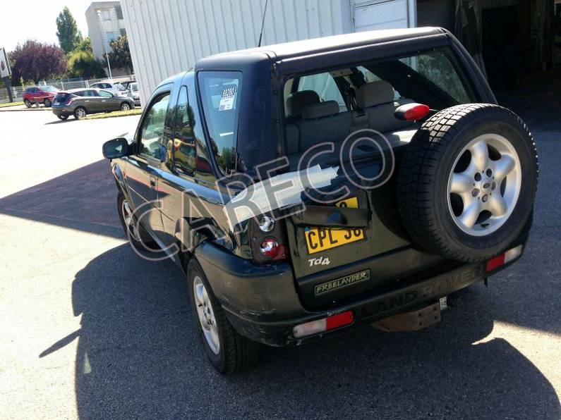 Photo véhicule accidenté : Land Rover Freelander 2.0 Td4 Break 112cv