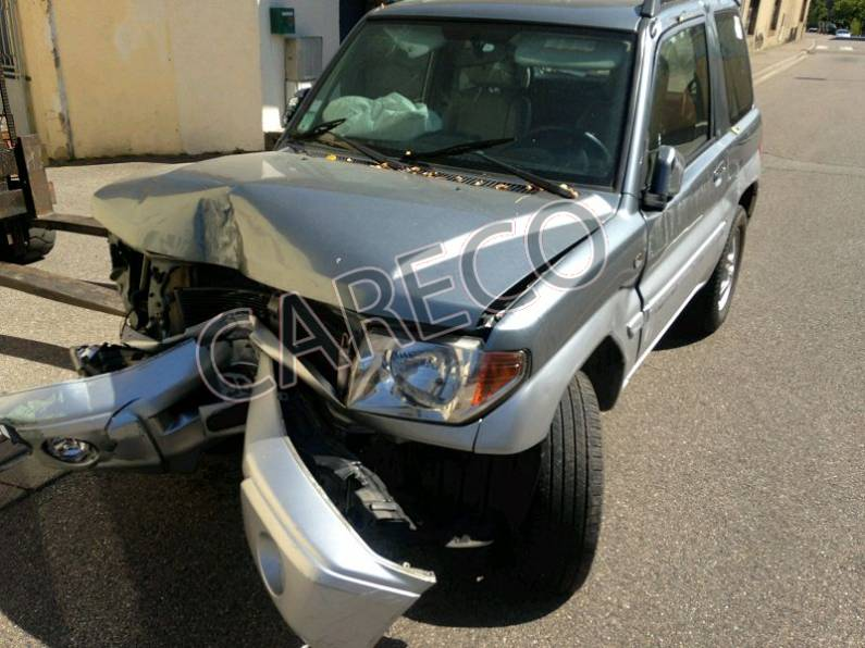 Photo véhicule accidenté : Mitsubishi Pajero .Pinin (H7*) 1.8 i Break 114cv